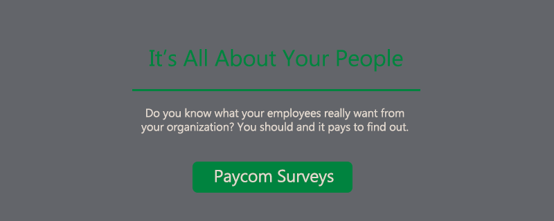 Paycom Surveys