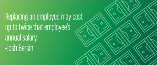 The cost of replacing employees - Bersin