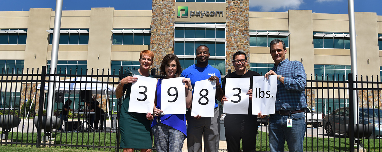 Paycom Employees Donate 3,983 Pounds of Clothing to Goodwill, Conclude National Payroll Week With Canoe Races