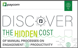 Discover the Hidden Cost of Manual Processes on Engagement & Productivity